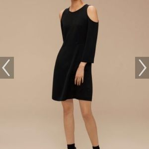 Brand new black Wilfred Vidal dress from aritzia